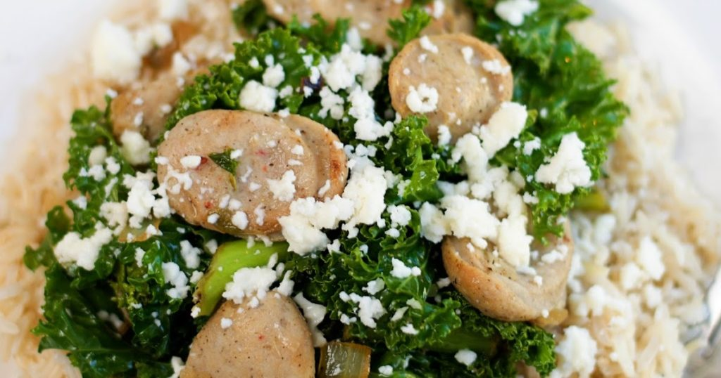 Chicken Sausage and Kale Title 2
