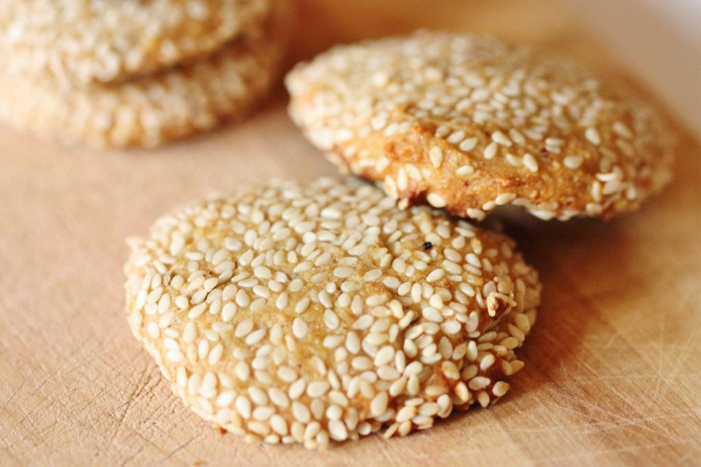 honey sesame treat